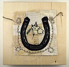 Wrangler Girl by Ayn Hanna (Fiber Wall Hanging)