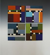 Color Story: Quartet by Sonya Lee Barrington (Fiber Wall Hanging)
