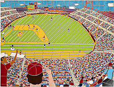 Portrait of Citizens Bank Park by Jonathan I. Mandell (Giclee Print)