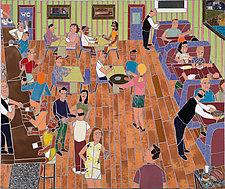 Restaurant Scene by Jonathan I. Mandell (Giclee Print)