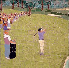 Golf Shot by Jonathan I. Mandell (Giclee Print)