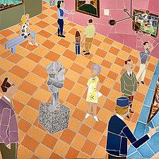 Art Museum Gallery II by Jonathan I. Mandell (Giclee Print)