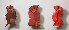 Birds of a Feather by Erik Wolken (Wood Wall Sculpture)