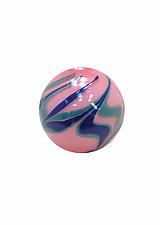 Pink History by Dierk Van Keppel (Art Glass Sculpture)