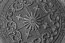 Iron Works pa 24_004 by Allan Baillie (Black & White Photograph)
