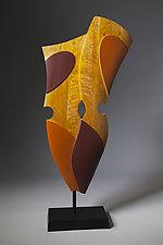 Human Shield #1 by Erik Wolken (Wood Sculpture)