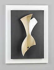 Figure II by Erik Wolken (Wood Wall Sculpture)