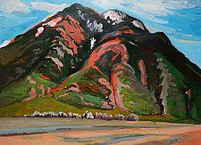 Santa Fe Hills by Bruce Klein (Acrylic Painting)