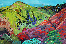 My Sainte-Victoire by Bruce Klein (Acrylic Painting)