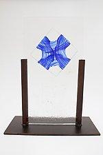 Blown Glass Origami by Dierk Van Keppel (Art Glass Sculpture)