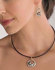 Robyn Pendant by Britt Anderson (Gold, Pearl & Diamond Pendant)