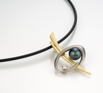 Jhain Pendant by Britt Anderson (Gold & Pearl Pendant)