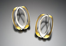 Lyra Earrings by Thea Izzi (Gold & Silver Earrings)
