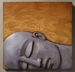 Fig. 4c: The Dream by Steve Gardner (Ceramic Wall Sculpture)