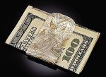 Money Clip by Louise Norrell (Gold & Silver Money Clip)