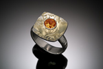 Damask Ring by Louise Norrell (Gold, Silver, & Stone Ring)