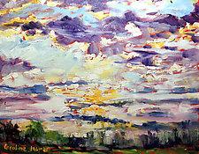 Acclaim by Caroline Jasper (Oil Painting)