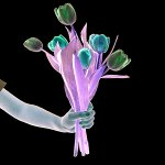 Bouquet by Marcie Jan Bronstein (Color Photograph)