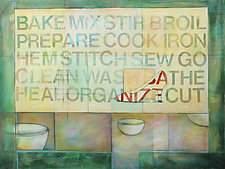 Bake, Stir, Mix by Diane Walker-Gladney (Acrylic Painting)