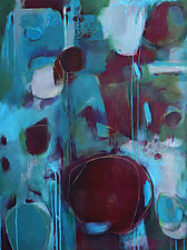 That Table is in Every Picture by Diane Walker-Gladney (Acrylic Painting)
