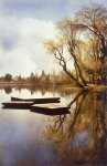 Lake Lodi III by Thea Schrack (Color Photograph)