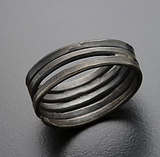 Hammered Wrap Ring by Randi Chervitz (Silver Ring)