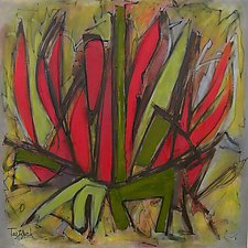 New Growth by Lynne Taetzsch (Acrylic Painting)