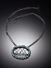 Starburst Necklace by Randi Chervitz (Silver & Stone Necklace)
