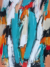 Abstract Art One by Lynne Taetzsch (Acrylic Painting)