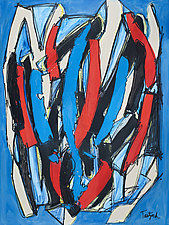 Abstract Art Six by Lynne Taetzsch (Acrylic Painting)