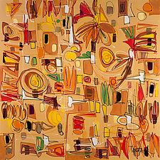 Modern Art Three by Lynne Taetzsch (Acrylic Painting)