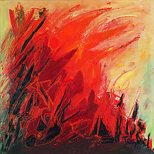 Abstract Art 27 by Lynne Taetzsch (Acrylic Painting)