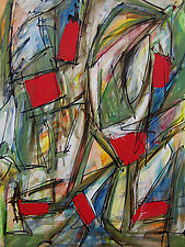 Abstract Art 4 by Lynne Taetzsch (Acrylic Painting)