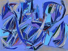 Abstract Art Twenty-Four by Lynne Taetzsch (Acrylic Painting)