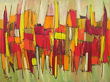 Sound and Fury Three by Lynne Taetzsch (Acrylic Painting)
