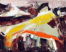 Modern Art Thirteen by Lynne Taetzsch (Acrylic Painting)
