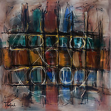 Red Key by Lynne Taetzsch (Acrylic Painting)
