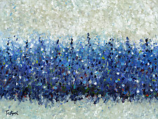 Blue Intensity by Lynne Taetzsch (Acrylic Painting)