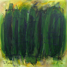 Green Is Good by Lynne Taetzsch (Acrylic Painting)