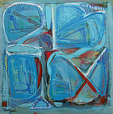 Baby Blue by Lynne Taetzsch (Acrylic Painting)