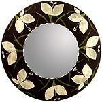 Botanica Mirror by Lara Moore (Mixed-Media Mirror)