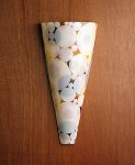 Pipe Dreams Sconce by Kathleen Ash (Art Glass Sconce)