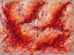 Abstract Art 19 by Lynne Taetzsch (Acrylic Painting)