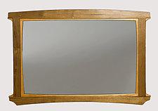 Mantle Mirror by Seth Rolland (Wood Mirror)
