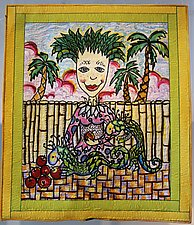 Mother of Dragons by Kim H. Ritter (Fiber Wall Hanging)