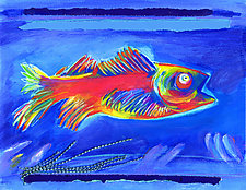Red Fish by Jane Sterrett (Giclee Print)