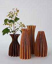 Wood Vases by Seth Rolland (Wood Vase)