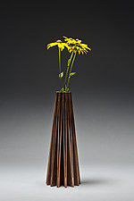 Coneflower Vase by Seth Rolland (Wood Vase)