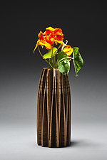 Orchid Vase by Seth Rolland (Wood Vase)