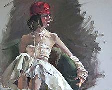 Red Hat by Marlies Merk Najaka (Giclee Print)